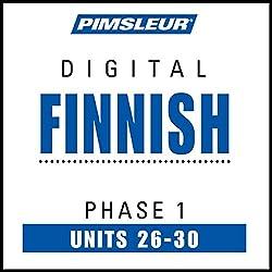 Finnish Phase 1, Unit 26-30