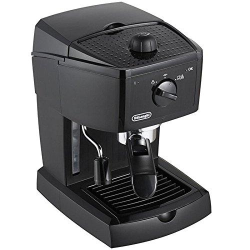 Delonghi EC 146.B - Cafetera espresso, 1l de capacidad, 15 bares presión, negro