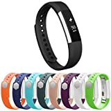 Vancle Fitbit Alta Bands, Newest Adjustable Replacement Bands for Fitbit Alta/ Fitbit Alta band/ Fitbit Alta Bands (with Metal Clasp,No Tracker) (black, large)