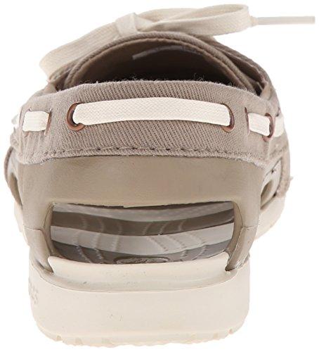 Zapatos Crocs linea híbrido Barco Khaki/Stucco