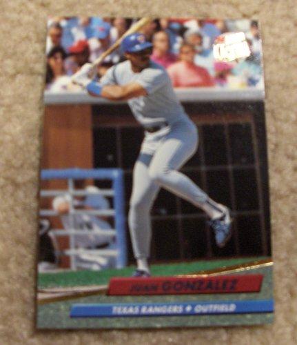 2015 Fleer Mlb Baseball - Juan Gonzalez 1992 Fleer Ultra # 132 MLB Baseball Card