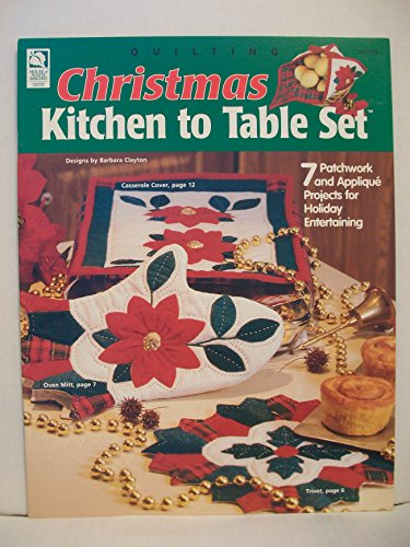 - Quilting Christmas Kitchen to Table Set (House of White Birches, 141175)