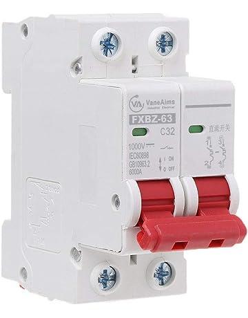 POPP/® Interruptor Autom/ático Magnetot/érmico industrial CURVA C 1P 2P 3P 6A 10A 16A 20A 25A 32A 40A 50A 63A /… 3P+N, 20A