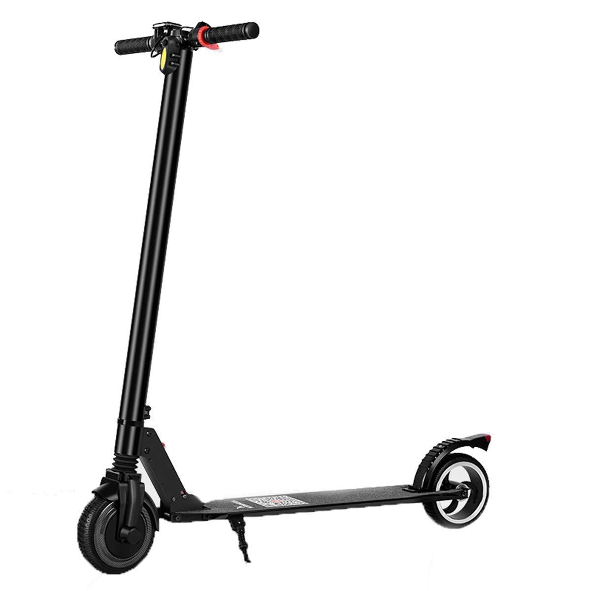 KPLMⓇ Scooter eléctrico Ligero Plegable con luz led y ...