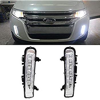 Ijdmtoy Switchback Led Daytime Running Lights For   Ford Edge W Turn Signal
