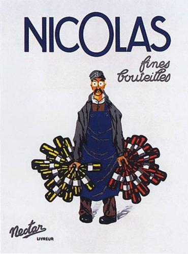 Nicolas Fine French Wine Vintage Poster Repro