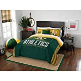 "MLB Oakland Athletics ""Grand Slam"" Full/Queen Bedding Comforter Set #55111790"