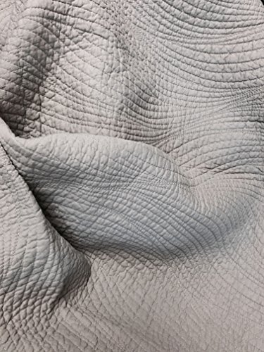 Cozy Line Home Fashions 100% COTTON Solid Grey Stream Curve Bedding Quilt Set, Reversible Bedspread Coverlet,For Bedroom/Guestroom (Stream Curve - Grey, King - 3 piece) - bedroomdesign.us