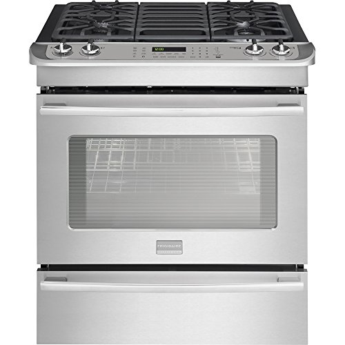 Frigidaire FPDS3085PF Professional FPDS3085PF Dual-Fuel 4.6 Cu. Ft. Stainless Slide-In Range