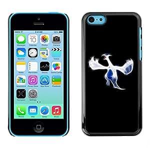 Be Good Phone Accessory // Dura Cáscara cubierta Protectora Caso Carcasa Funda de Protección para Apple Iphone 5C // Blue Bird