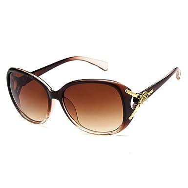 Eroihe Gafas de sol para Mujer Retro Polarizadas Gafas de sol UV400 Protección Gafas