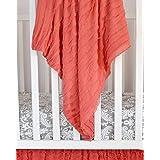 Ruffle Baby Blanket for Baby Girl 43