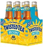 Twisted Tea Half and Half Beer 5% ABV, 12 oz, 6 pk