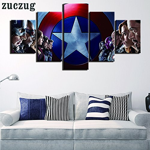 marvel poster canvas - 1