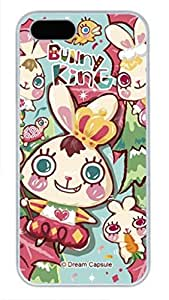 iCustomonline Bunny Kins Case for iPhone 5 5S PC Material White by ruishername