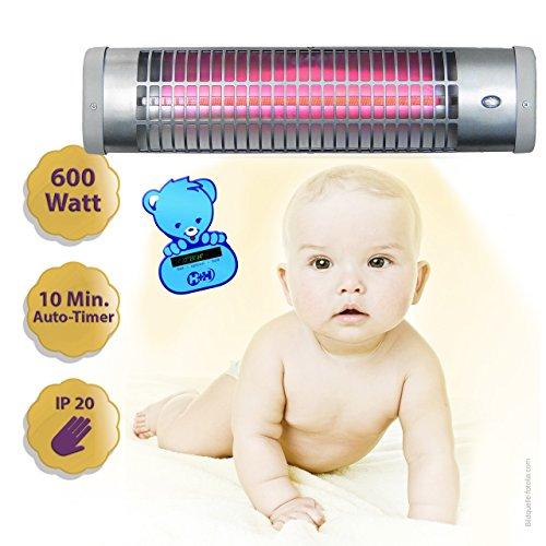 Der Neue Wickeltisch Heizstrahler mit Thermometer von H + H
