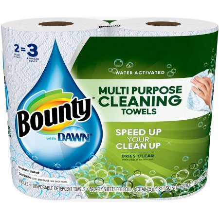 Bounty Multi Purpose Cleaning Towels sheets product image
