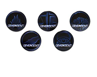 Les factions divergentes 5 Badge Set