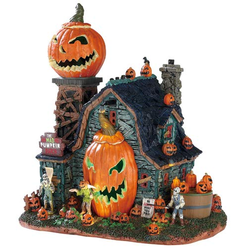 Lemax Spooky Town The Mad Pumpkin Patch Signature