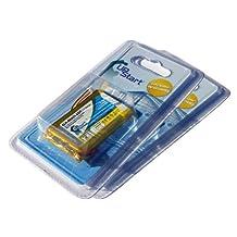 2 Pack - Nuvi Battery Replacement (1500mAh, 3.7v, LiPo) for Garmin GPS Compatible with - Garmin Nuvi 350, Garmin Nuvi 660, Garmin Nuvi 650, Garmin Nuvi 360, Garmin Nuvi 680, Garmin 361-00019-02
