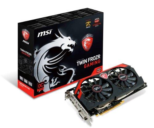 MSI AMD Radeon R9 280X, 3GB GDDR5, PCI Express 3.0 Graphics Card R9 280X Gaming 3G