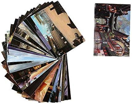 Hongma 30x Pappe Farbpapier Antike Literatur und Kunst für Tagebuch Kalender Fotoalbum DIY Dekoration MEHRWEG