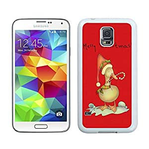 Recommend Design Christmas duck White Samsung Galaxy S5 Case 1