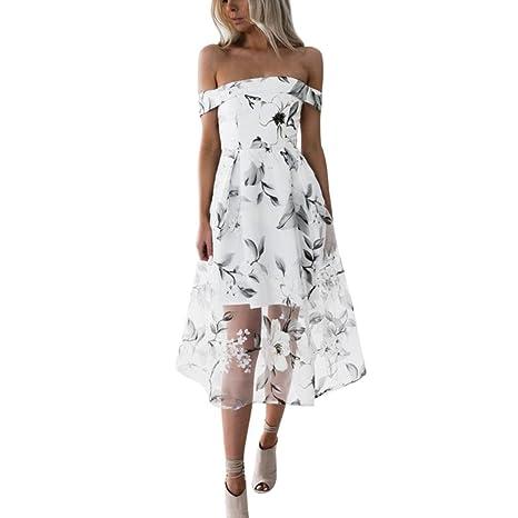 Zolimx Donna Elegante Vestito 98b569a24cf