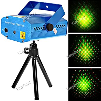 sound activated disco music stage mini laser projector amazon in