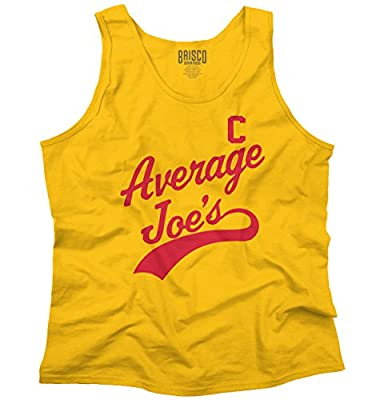 Average Joes Cool Dodgeball Gym Fitness Movie Sports Funny Tank Top Shirt
