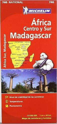 África Centro-Sur, Madagascar. Mapa National 746