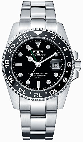 Technos T2134SB TECHNOS GMT Watch product image