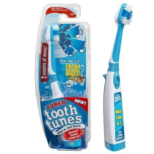 Turbo Tooth Tunes Battery Powered Toothbrush, HSM2 What time is it? by Tooth Tunes
