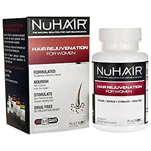 NuHair Hair Vitamins for Women with Thinning Hair.