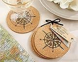 120 SETS of 4 ''Let the Journey Begin'' Cork Coasters