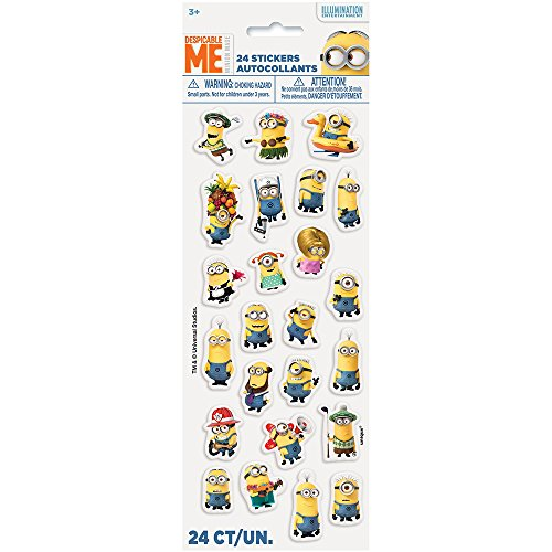 Despicable Me Minions Puffy Sticker Sheet