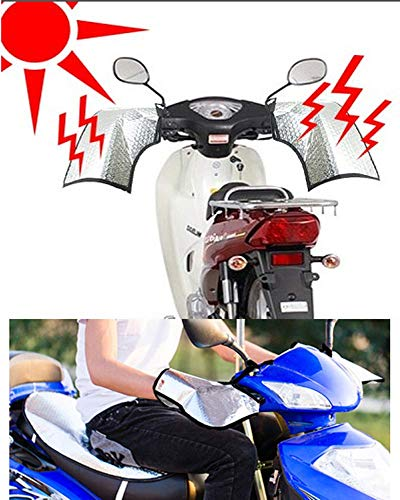 E- MOTORS Sun Protection Bike Mitts Grip Handle Bar Muff Cover Glove For Motorcycle Scooter Bike