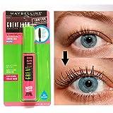 Maybelline Great Lash Waterproof Mascara, Very Black [111], 0.43 oz
