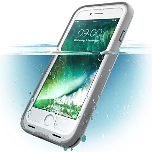 i Blason iPhone7 WaterProof Case White Waterproof Full body Rugged
