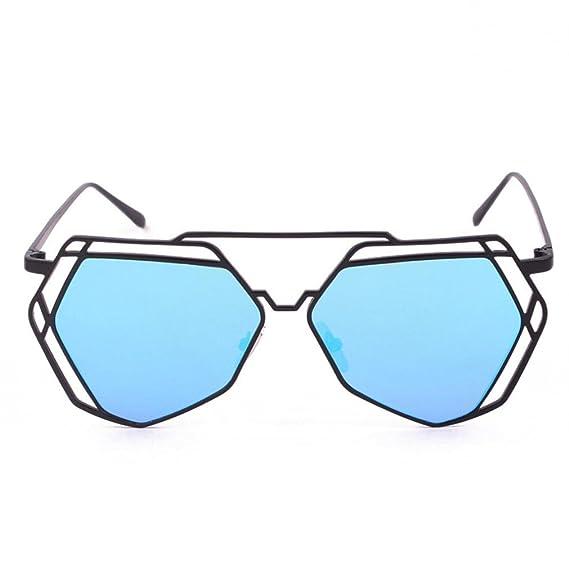 Gafas Gafas De Sol Irregulares De Corte Hueco Gafas De Sol Para Hombre Mujer Moda Redondas