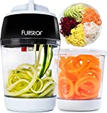 Vegetable Spiralizer Vegetable Slicer - 3 in 1 Zucchini Spaghetti...