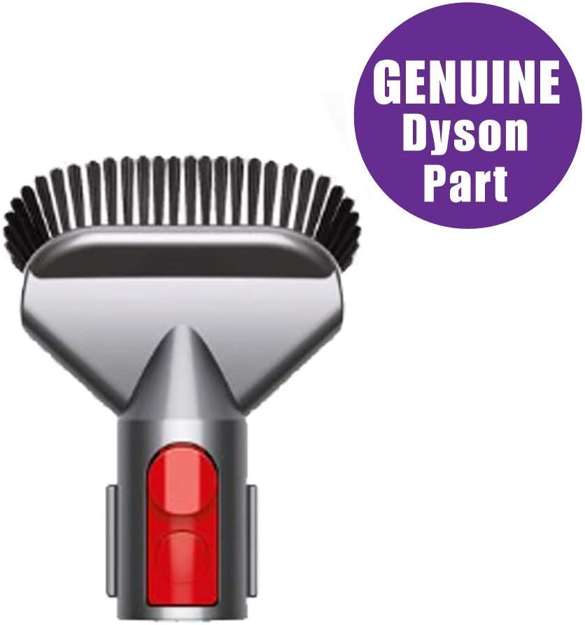 Dyson Stubborn Dirt Brush Vacuum Attachment, Part No. 967765-01, Heavy-Duty Professional Cleaning Accessory Tool