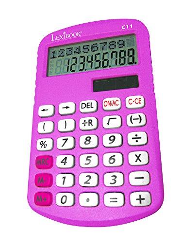 LEXiBOOK C11Z-Double-Line Display Primary School Calculator