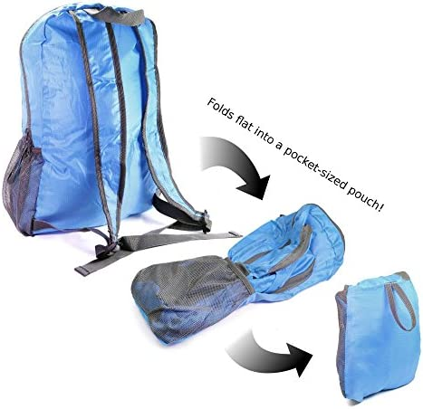 Tuff-Luv Light Water Resistant Foldable Sport Go Easy Travel Backpack