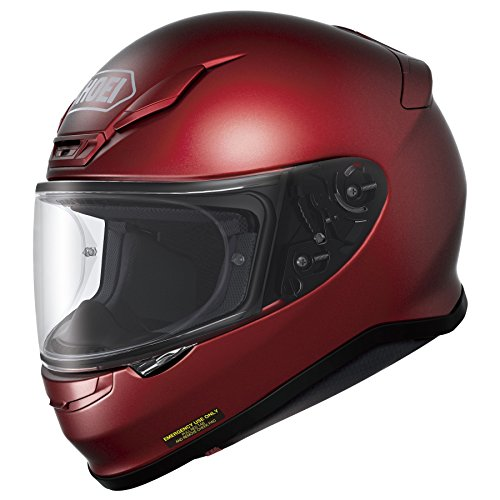 Shoei RF-1200 Full Face Motorcycle Helmet Wine Red Medium (More Color and Size Options)