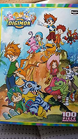 Digimon 100 Piece Puzzle by RoseArt (Digimon Puzzle)
