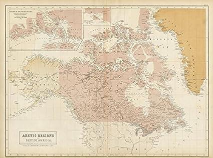 Canadian Arctic Archipelago British America Canada