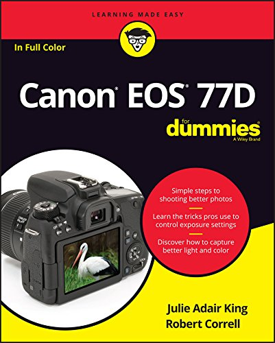 Price comparison product image Canon EOS 77D For Dummies (For Dummies (Computer / Tech))