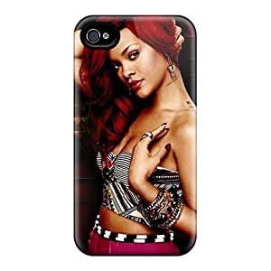 Scratch Protection Hard Phone Cover For Iphone 6plus (rFI18623EWmD) Customized Nice Rihanna Image