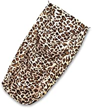 Best Pet Supplies 5-Step Foam Pet Stairs/Steps Cover Only-Animal Print
